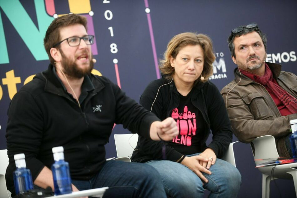 """Miguel Urbán: """"La extrema derecha siempre ha existido en este país, pero hasta ahora ha estado dentro del PP"""""""
