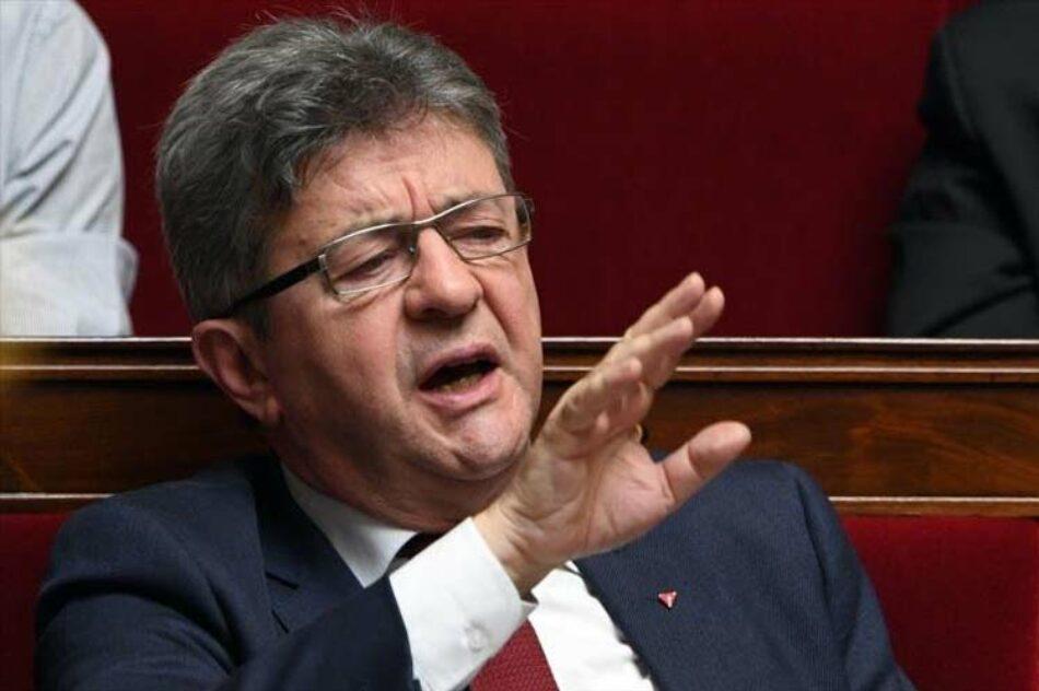 El líder izquierdista francés Jean-Luc Melenchon denuncia ofensiva política en su contra