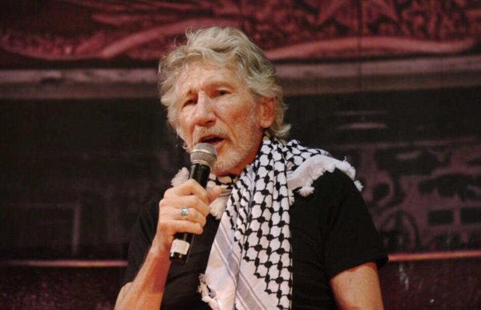 Argentina abrazó a Palestina, de la mano de Roger Waters