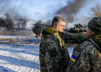 Poroshenko acusa a Rusia de intentar anexarse toda Ucrania