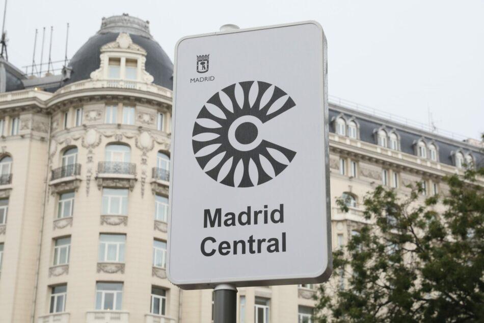 Arranca la zona de bajas emisiones «Madrid Central» con el objetivo de «reducir la contaminación, el ruido y mejorar el espacio público»