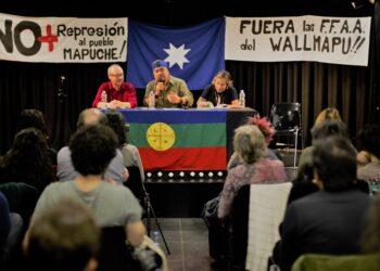 Héctor Llaitul en Madrid: crónica de la palabra de un weychafe en la capital del Reino