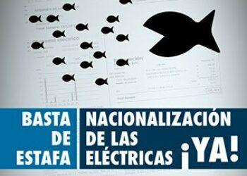 En marcha una campaña por la nacionalización de las eléctricas y contra la pobreza energética en Murcia
