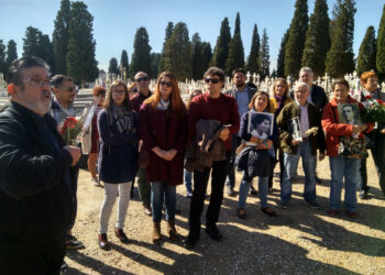 Participa urge al Gobierno la localización y la señalización de las fosas comunes del Cementerio de San Fernando