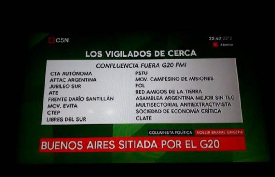Denunciamos el ciber-espionaje del gobierno hacia el movimiento popular argentino. ¡Espiar es ilegal!