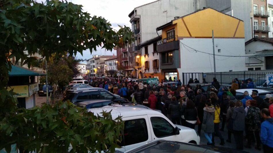 Altsasu responde con un unánime rechazo a la provocación de Ciudadanos