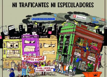 Vecinos del Raval convocan cacelorada en Barcelona bajo el lema «que no trafiquen con tu vida ni traficantes ni especuladores»