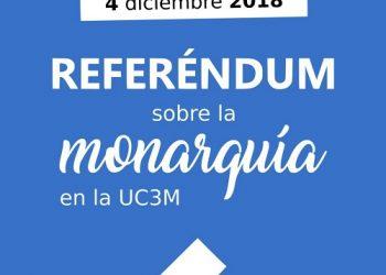 Estudiantes de la Universidad Carlos III de Madrid siguen los pasos de la Autónoma y también organizarán consulta sobre la monarquía