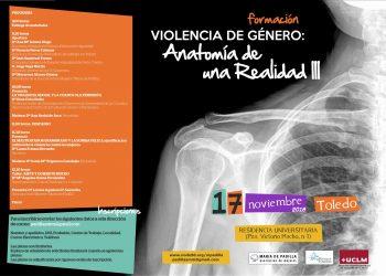III Jornada de formación «violencia de género: anatomía de una realidad» organizada por la asociación de mujeres «María de Padilla» de Toledo