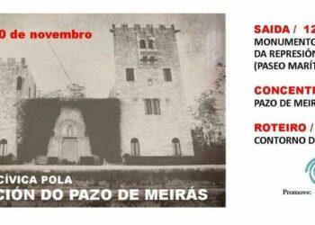 Esquerda Unida súmase e chama a participar na mobilización deste sábado 10 de novembro  pola devolución do Pazo de Meirás