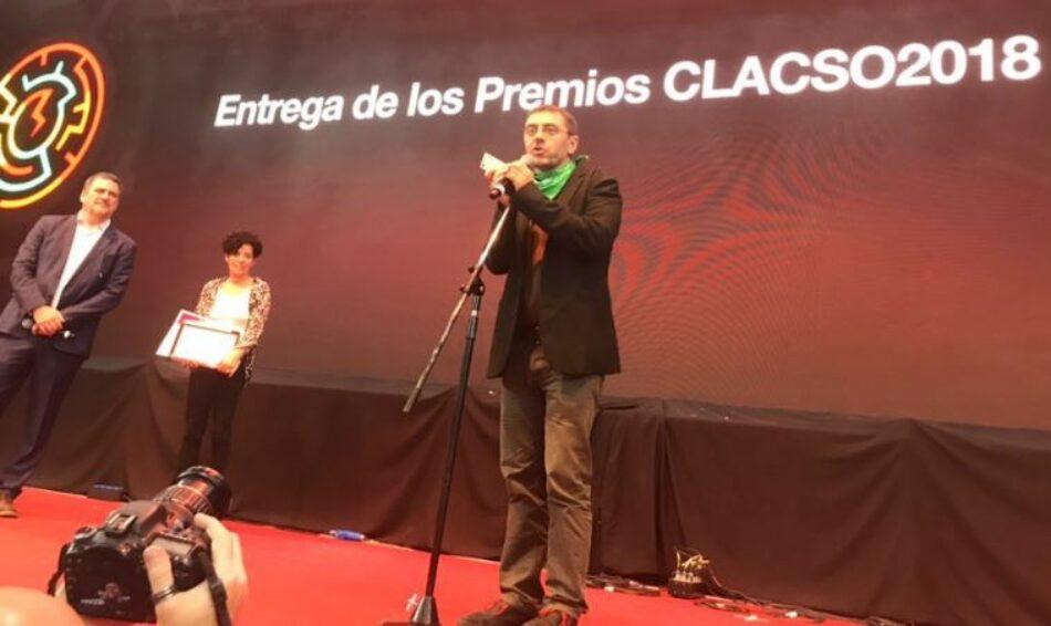 Concluye con éxito eI I Foro Mundial del Pensamiento Crítico con la participación de representantes de Podemos