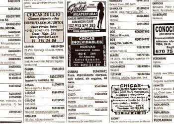 El PP impide en León debatir una moción contra la publicidad de prostitución en los medios de comunicación