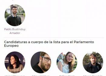La candidatura encabezada por Pablo Bustinduy gana, con un 72% de apoyo, las primarias de Podemos para las elecciones europeas