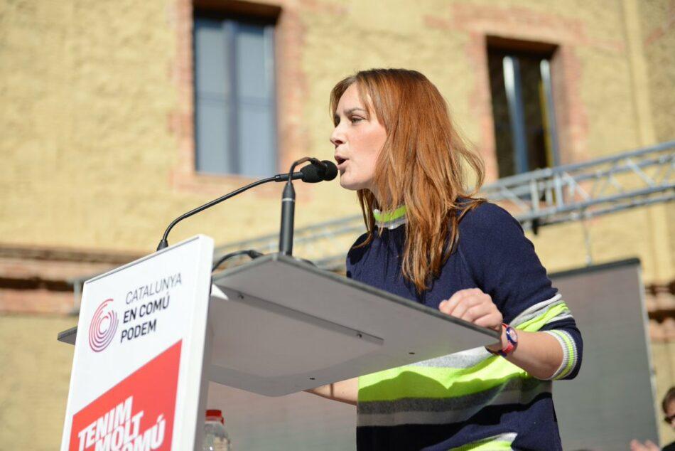 """Jéssica Albiach: """"Sortim sense respostes del Govern"""""""