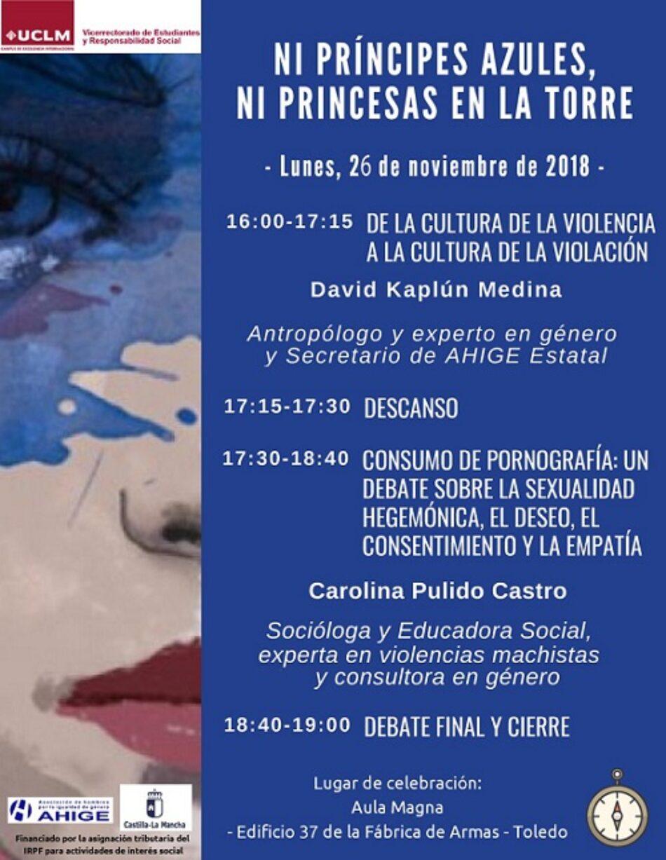 Ahige y la UCLM invitan a docentes y alumnado al curso 'Ni príncipes azules, ni princesas en la torre' en Toledo