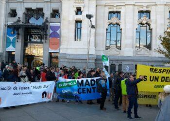 Ecologistas en Acción lleva a Bruselas los obstáculos a Madrid Central por parte del Gobierno de la Comunidad