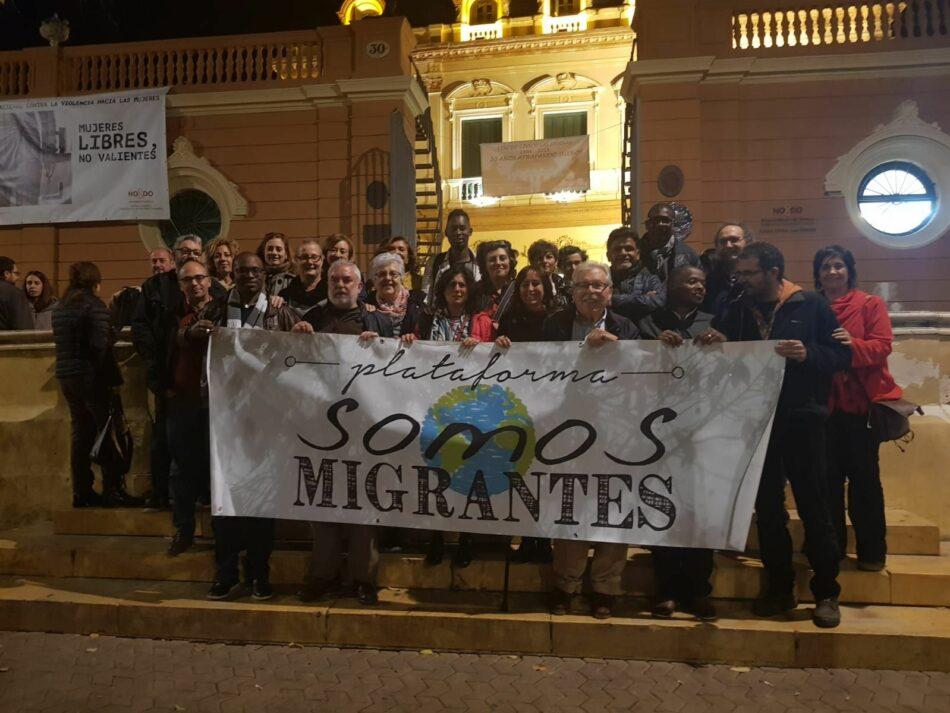 La Plataforma Somos Migrantes celebra un debate con candidatas a las elecciones al Parlamento de Andalucía