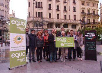 EQUO Verdes – Iniciativa Andalucía presenta a sus cabezas de lista para las distintas provincias