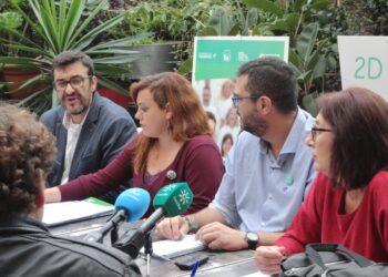 Adelante Andalucía exige más dinero al Estado para educación, sanidad y servicios sociales