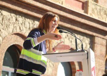 """Jéssica Albiach: """"L'única sentència justa és la llibertat dels presos i les preses polítiques"""""""