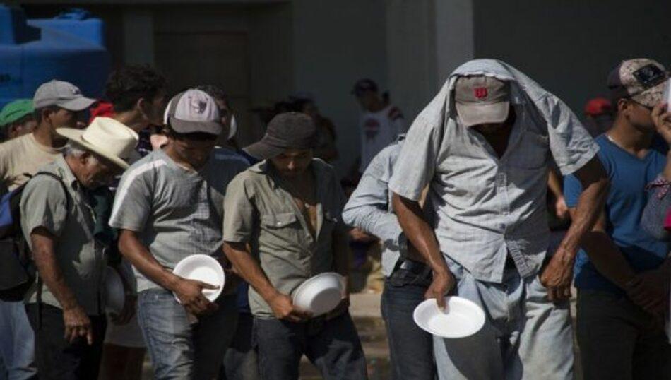 Continúa la caravana de refugiados hondureños a territorio guatemalteco