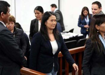 El tribunal peruano dicta prisión preventiva contra Keiko Fujimori