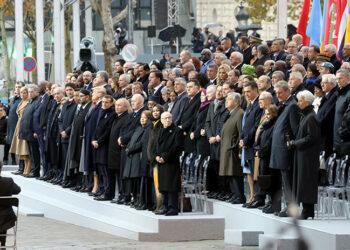 Los líderes mundiales conmemoran el 100 aniversario del final de la I Guerra Mundial