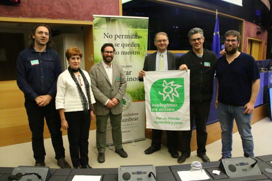 Podemos impulsará una queja ante el Parlamento Europeo para denunciar la situación de las vías pecuarias y los caminos públicos en Andalucía