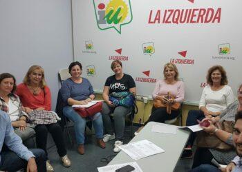 El PCA muestra su apoyo a la Plataforma de Ayuda a Domicilio en Sevilla