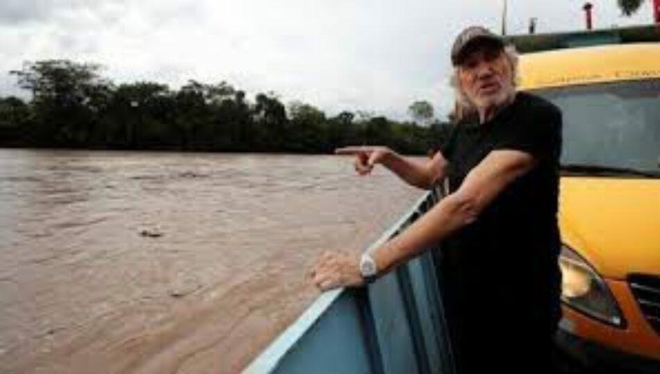 Ecuador: Roger Waters se solidariza con víctimas de Chevron-Texaco