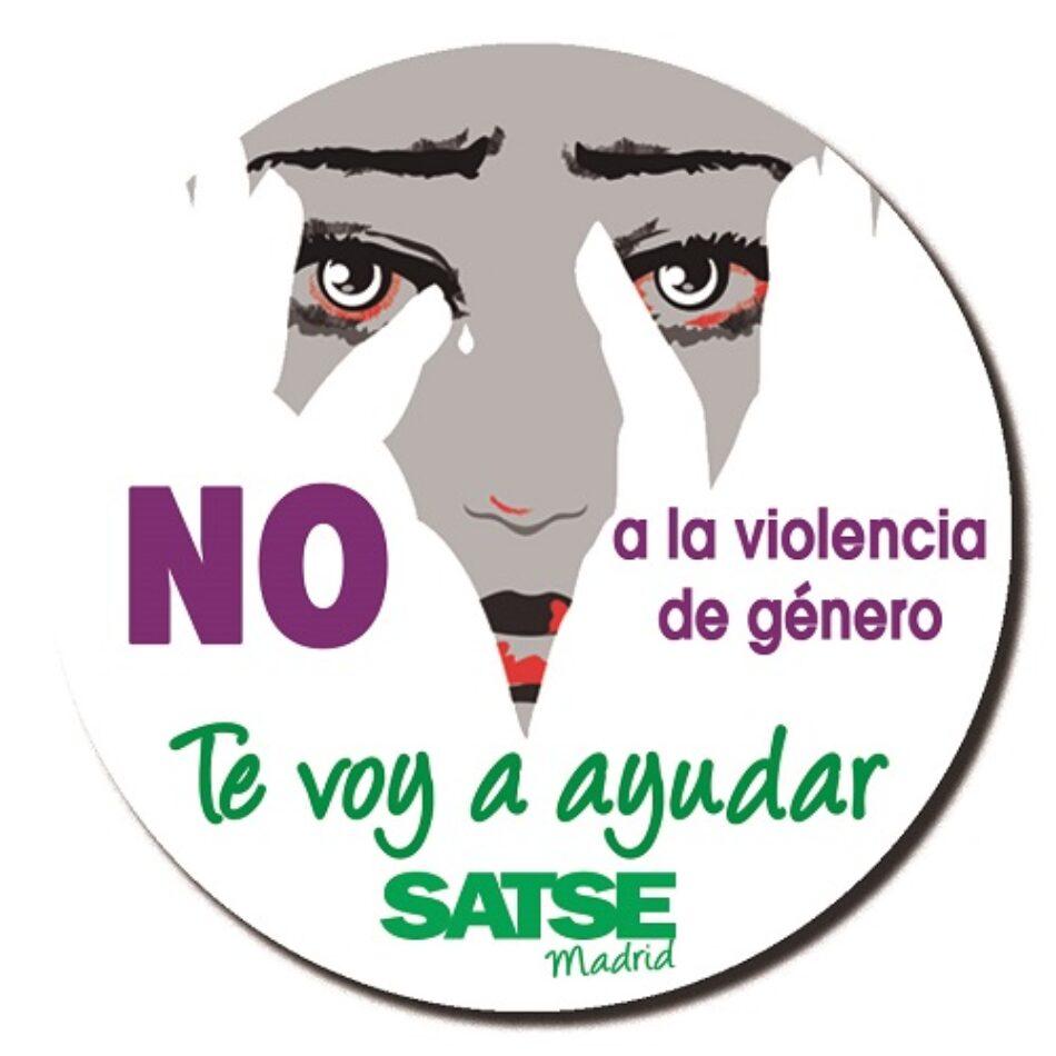 """Campaña de SATSE Madrid: """"Ante la violencia de género tu enfermera te va a ayudar"""""""