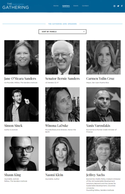 Bernie Sanders convida Ada Colau a participar en una trobada internacional amb referents globals d'innovació democràtica