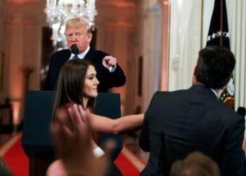 Trump pierde el juicio contra la CNN y tendrá que dejar entrar a su reportero en la Casa Blanca