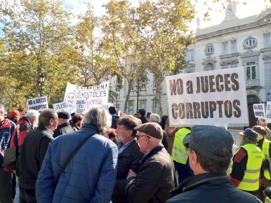 Podemos e IU animan a la movilización frente al Tribunal Supremo tras el escándalo de la sentencia de las hipotecas