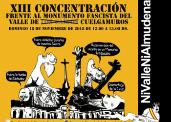 La CNT se suma a la XIII Concentración Frente al Monumento Fascista del Valle de los Caídos del 18 de noviembre
