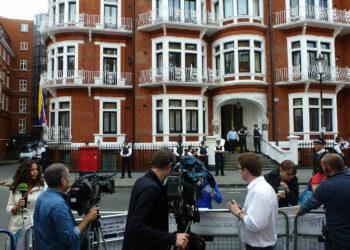 Naciones Unidas aboga porque Assange salga de embajada de Ecuador en Londres sin ser detenido