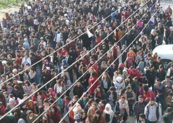 Miles en Kobane protestan contra las amenazas de ocupación de Erdoğan