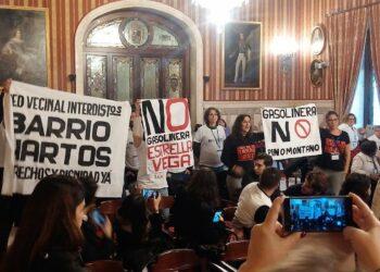 IU Sevilla anuncia su apoyo a la plataforma vecinal de Pino Montano contra la gasolinera