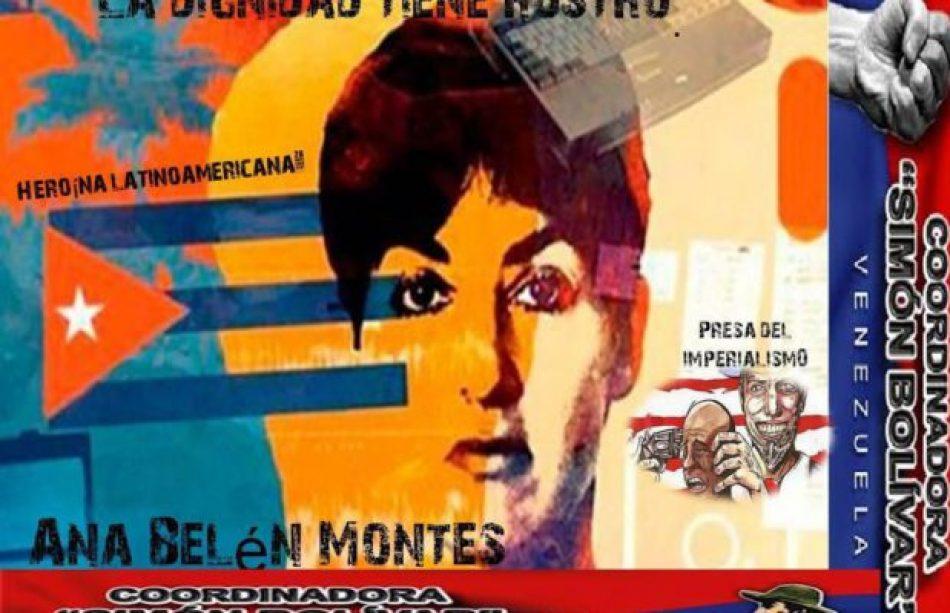 Desde la Coordinadora Simón Bolívar expresan solidaridad internacionalista con Ana Belén Montes
