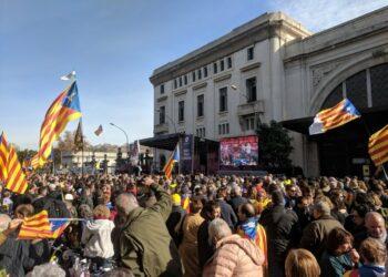 Cargas policiales y detenciones en las protestas en Cataluña
