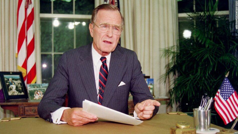 Muere a los 94 años el ex vicepresidente de los Estados Unidos George H. W. Bush
