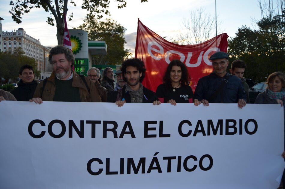 EQUO VERDES lamenta el protagonismo concedido a la ultraderecha en el Parlamento de Andalucía y que se ignore el cambio climático