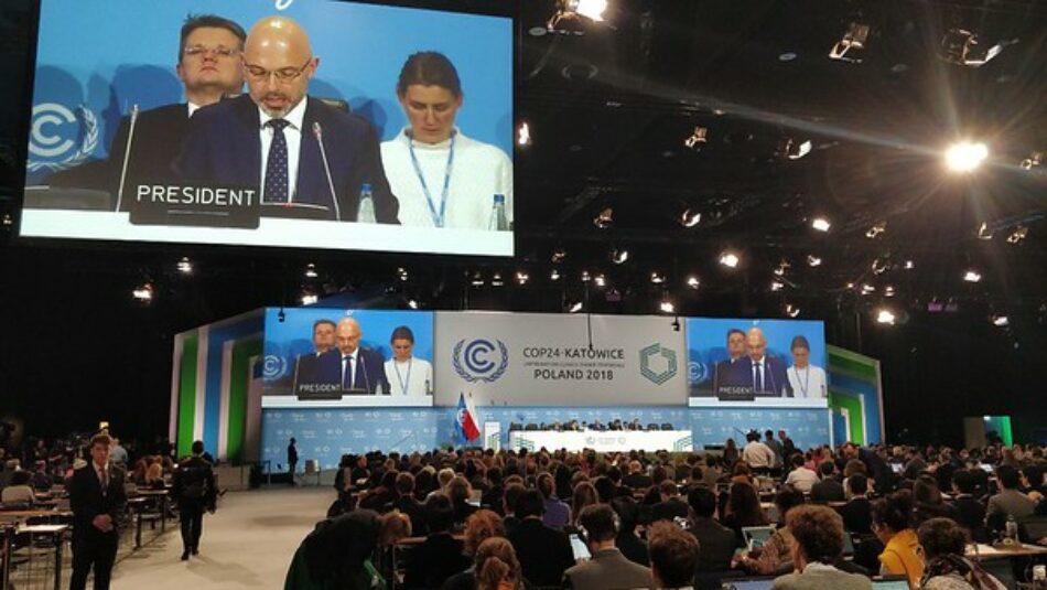 La COP24 finaliza sin compromisos firmes para aumentar la acción y la ambición climática