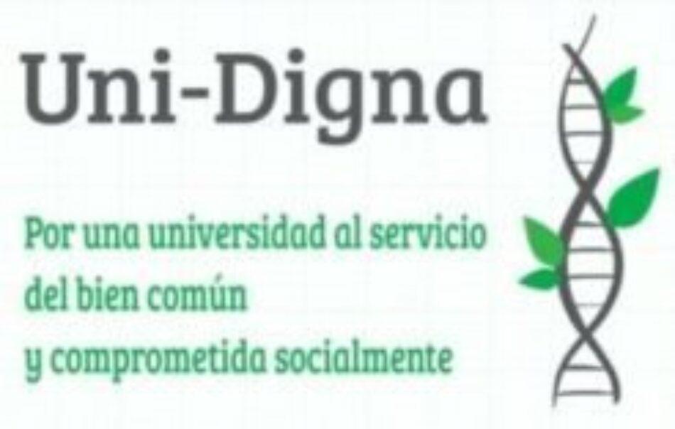 El colectivo UniDigna pide al ministro de Ciencias y Universidades parar al anecazo y consensuar un nuevo sistema de evaluación y acreditación del profesorado universitario
