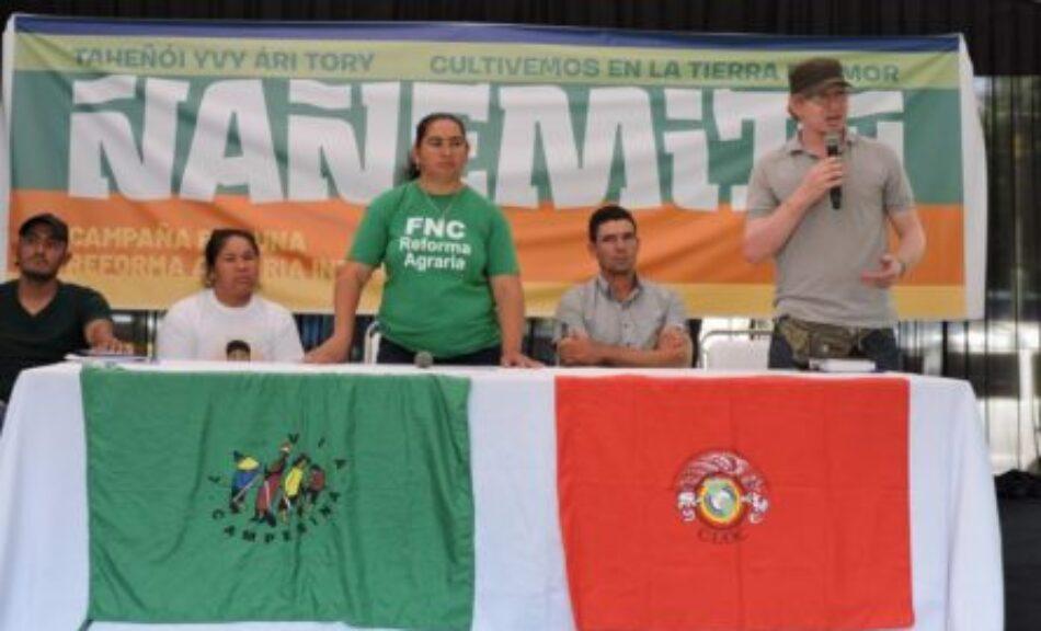 Paraguay: En el día de los Derechos Humanos, diversas organizaciones denuncian corrupción y violencia contra campesinxs e indígenas