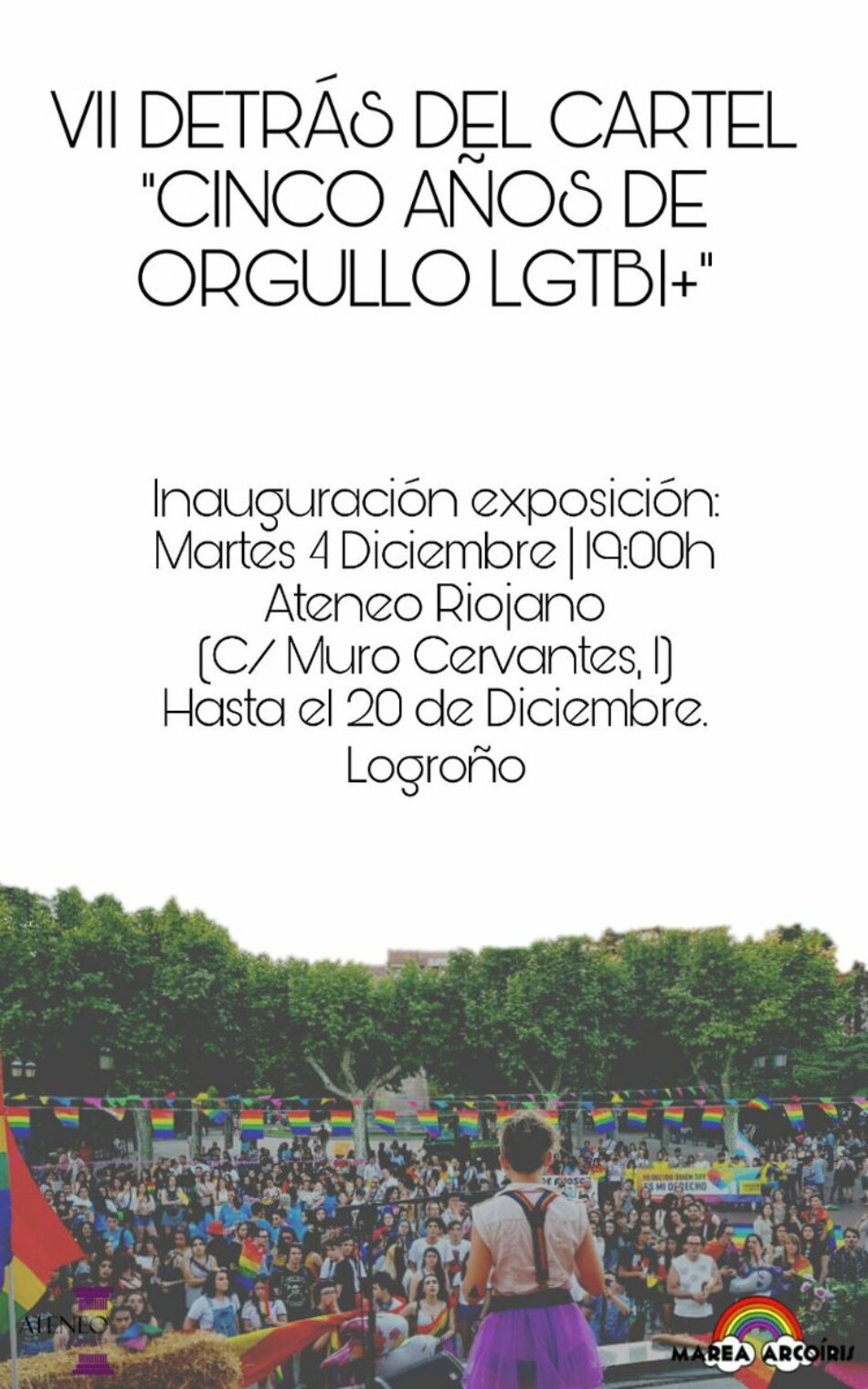 Exposición «Cinco años de orgullo LGTB+»