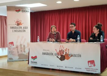 Marina  Albiol critica la hipocresía del PSOE al apoyar los visados humanitarios y promover al tiempo normas que condicionan su expedición a las deportaciones