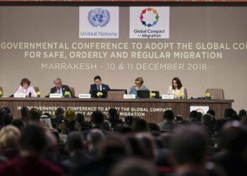 Declaración conjunta de Izquierda Unida y la Vía Democrática de rechazo al Pacto Mundial para la Migración