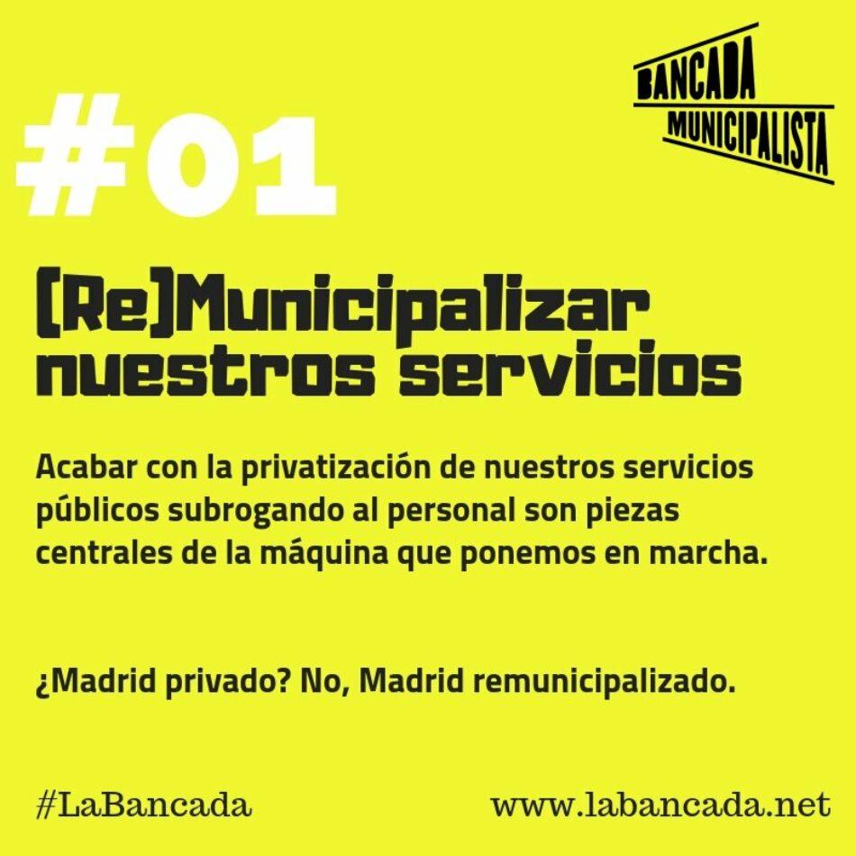 Más de trescientas personas firman un llamamiento a favor de un proyecto municipalista y de base para Madrid