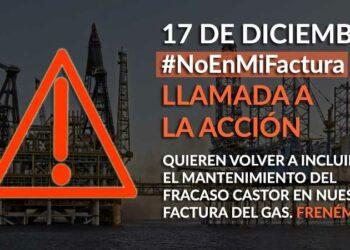 Querella ciudadana: «El Gobierno quiere incluir el coste de mantener Castor en la factura del gas»